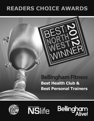 Bellingham Fitness Best Health Club 2012 Award