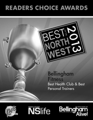 Bellingham Fitness Best Health Club 2013 Award